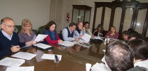 Se definió el equipo de gestión que acompañará a Daniel Scatturice
