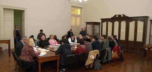 Sesión Ordinaria del Consejo Directivo