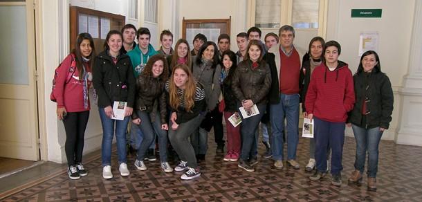 Visita a nuestra Facultad de la  Escuela Agropecuaria de Lobería