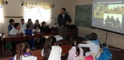 Charla sobre Uso de Agroquímicos para estudiantes de la EP Nº5 de Gómez de la Vega.