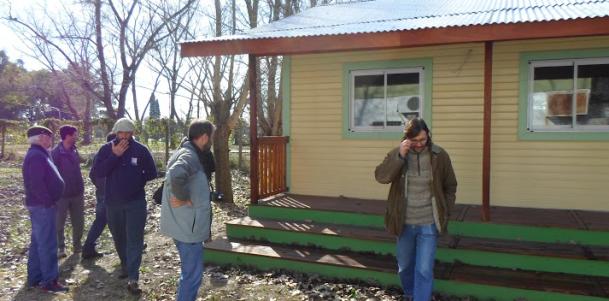 Visita de un grupo de aserraderistas del delta a nuestra Facultad