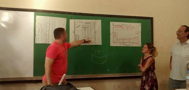 Taller de Huerta en la Facultad