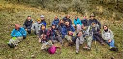 Viaje de campaña del curso de Dendrología
