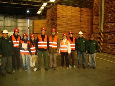 Viaje integrador de los cursos del área tecnológica de la carrera de Ingeniería Forestal