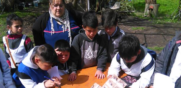 Visita de estudiantes de 5° año a nuestro Vivero Forestal