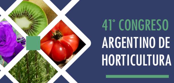 41º Congreso Argentino de Horticultura