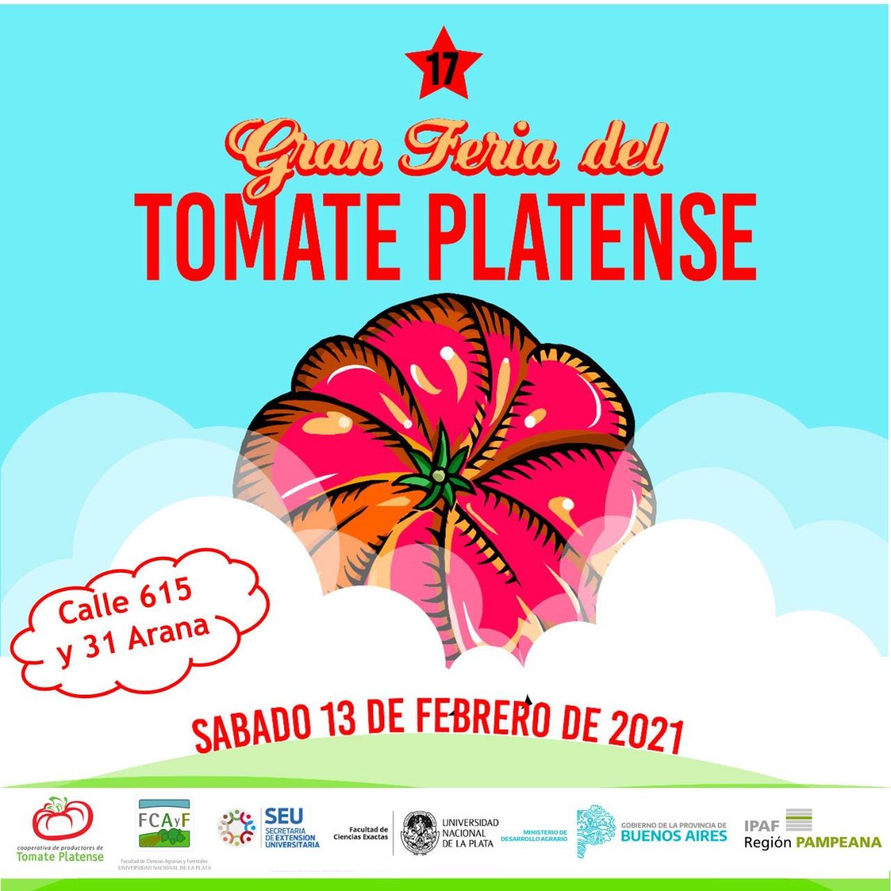 CAMBIO DE FECHA 17º Fiesta del Tomate Platense