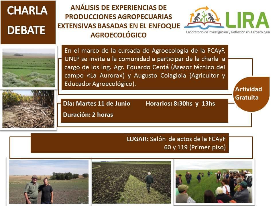 Análisis de Experiencias de producciones agropecuarias extensivas basadas en el enfoque agroecológico
