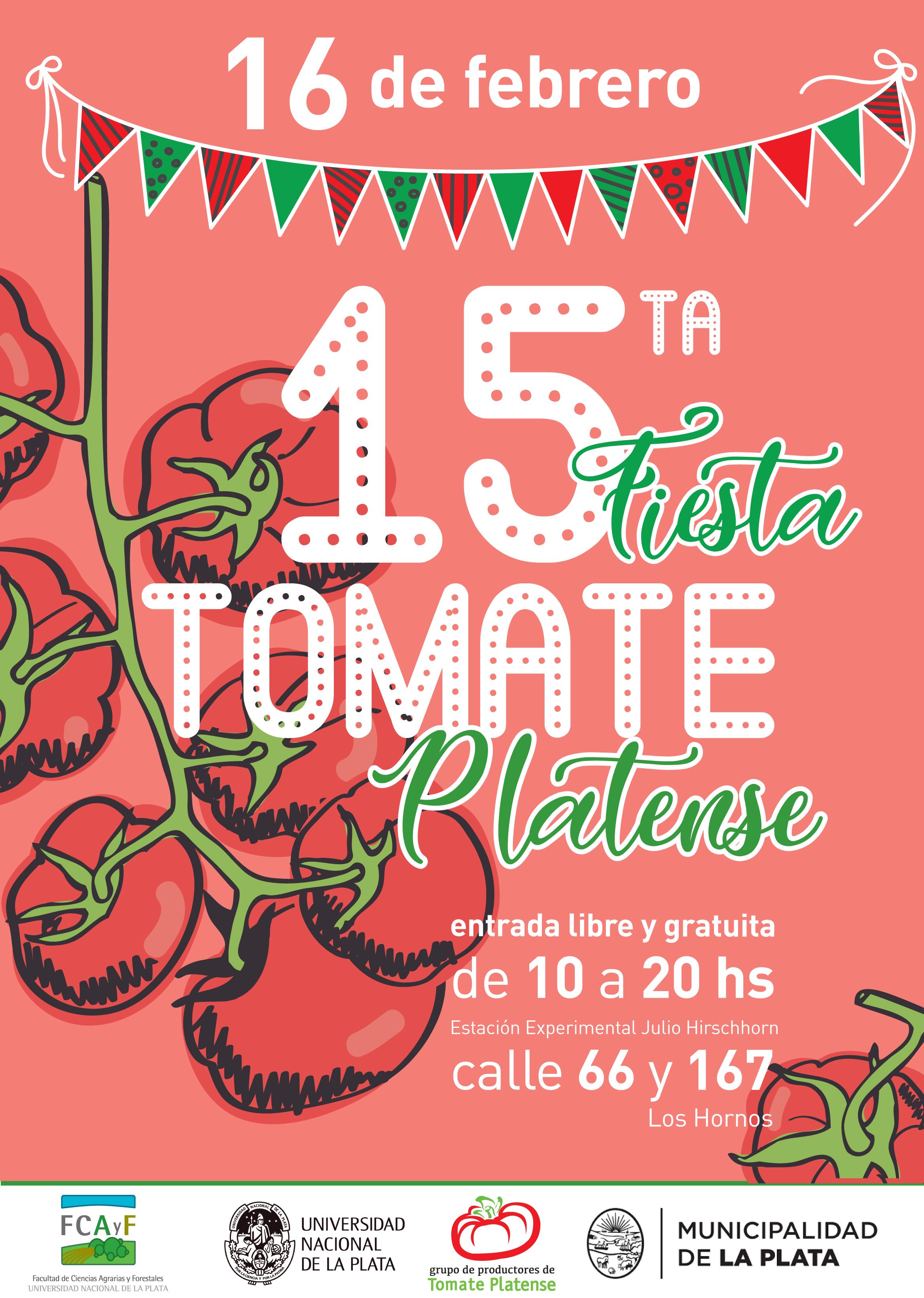 15° Fiesta del Tomate Platense