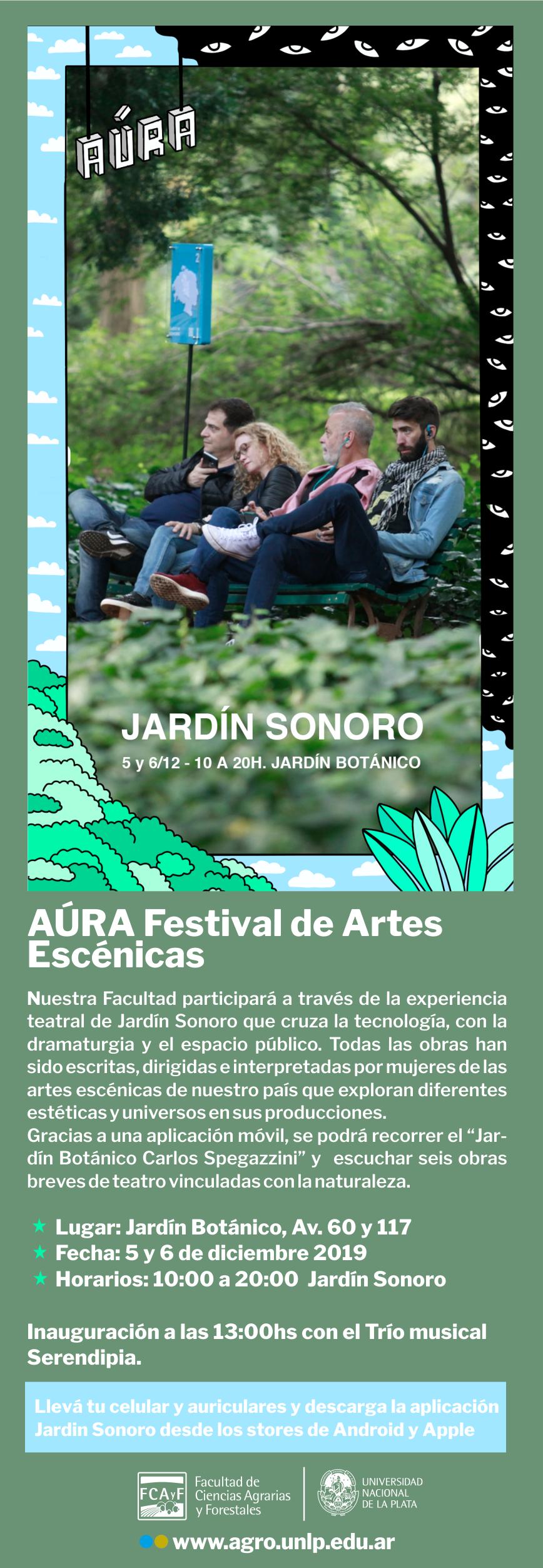 La Facultad presente en el  AÚRA Festival de Artes Escénicas