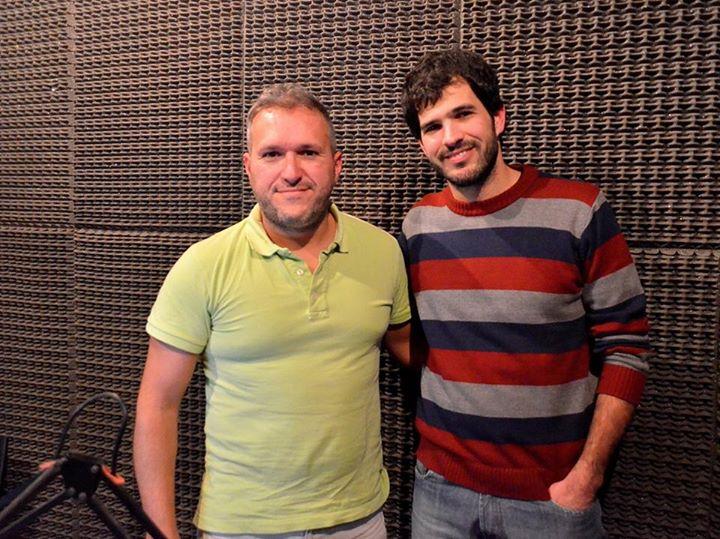 El MSc. Ing. Agr.  Patricio Vértiz en Radio Universidad