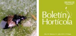 Boletín Hortícola