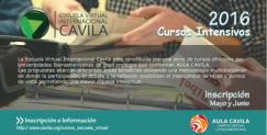 Inscripción a los cursos de la Escuela Virtual CAVILA