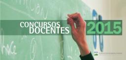Llamado a Concurso para cubrir cargos de Profesores y Auxiliares Docentes Ordinarios