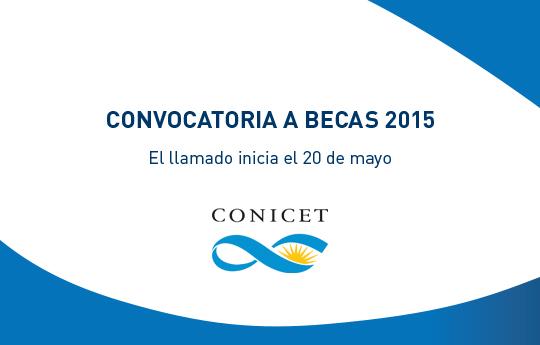Convocatoria para Becas Doctorales y Postdoctorales del CONICET