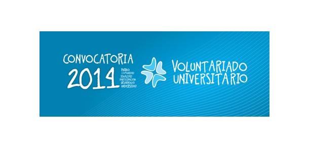 Convocatoria 2014 de Voluntariado Universitario