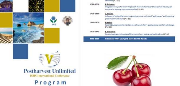 El LIPA estuvo presente en el Congreso Internacional de Postcosecha en Chipre