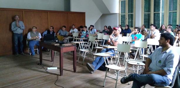 Visita de estudiantes de la Universidad Nacional de La Pampa