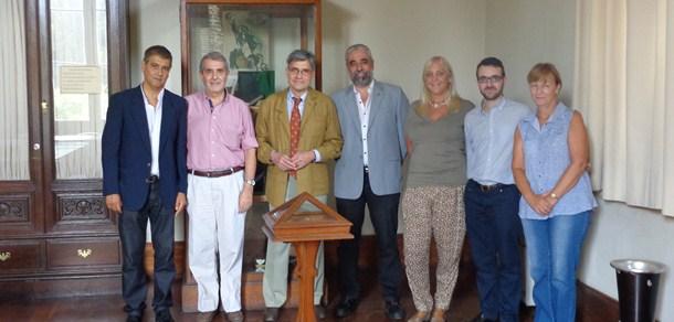 Encuentro entre autoridades de la Facultad e integrantes del GESPLAN