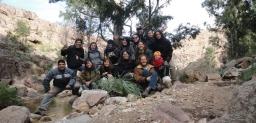Viaje integrador de los estudiantes y docentes del Curso de Manejo de Cuencas Hidrográficas