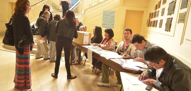 Elecciones de representantes del personal no docentes para los Concursos  según Ord. 262/02