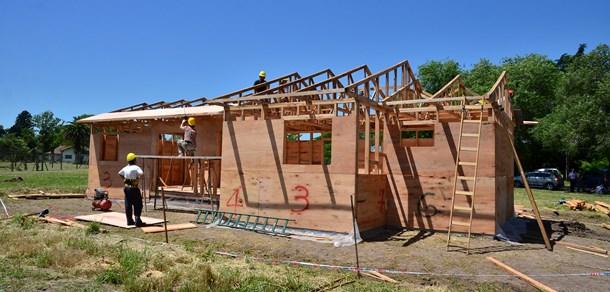 Curso teórico práctico para el armado de piezas partes de viviendas de madera