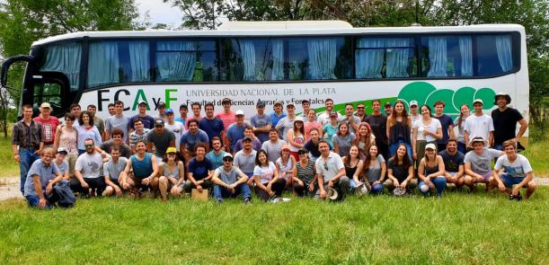 Viaje Integrador de estudiantes de 5° de Ingeniería Agronómica