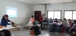 Seminario en la Escuela Agropecuaria de Abasto
