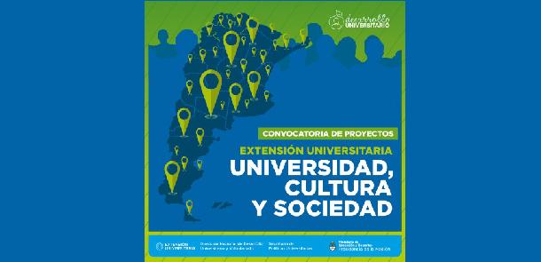"""Convocatoria de Proyectos de Extensión Universitaria """"UNIVERSIDAD, CULTURA Y SOCIEDAD"""" 2016"""