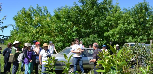 Finalizaron cursos extensi n del jard n bot nico con una for Jardin botanico cursos