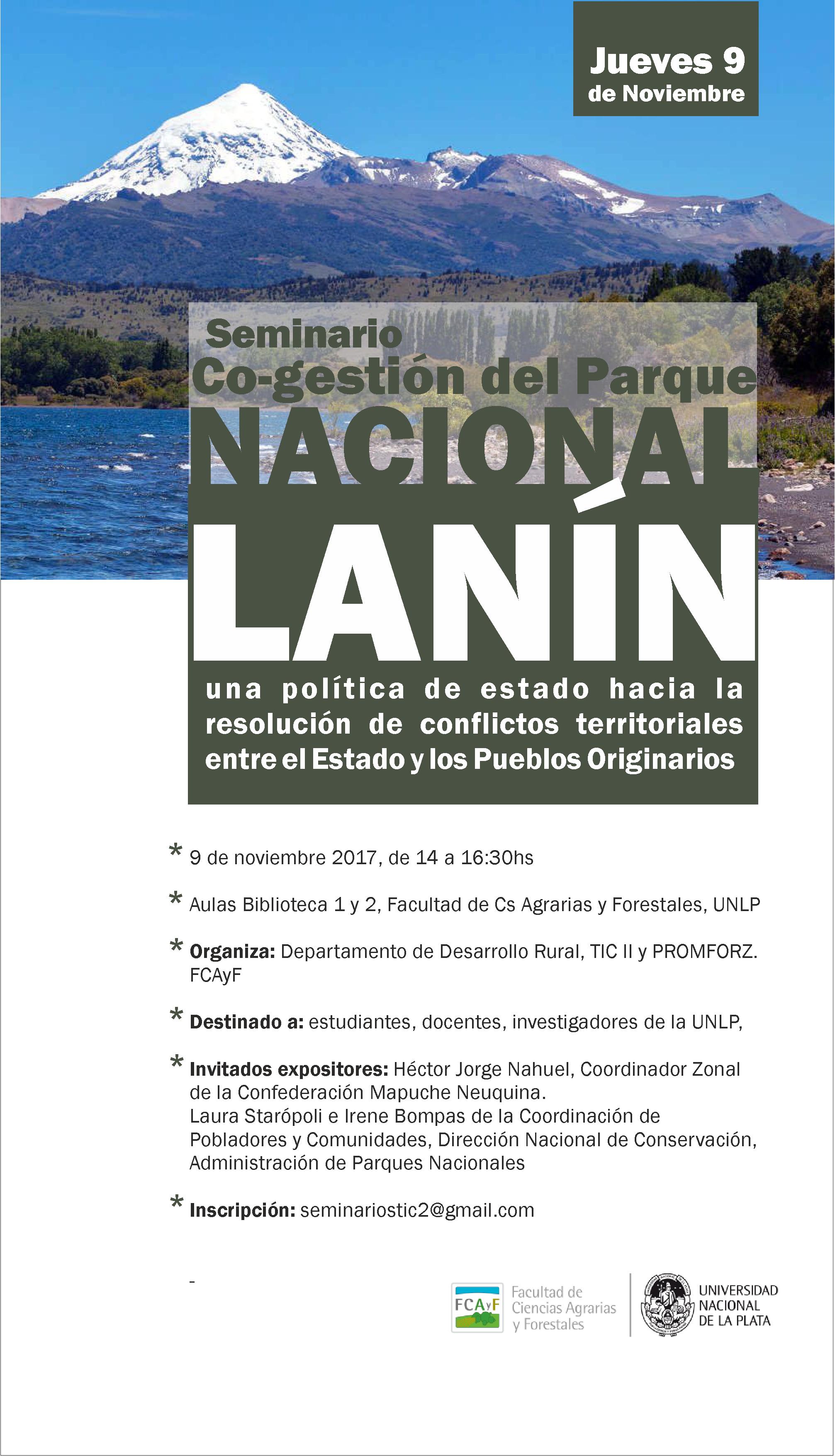 Seminario Co-Gestión del Parque Nacional Lanín