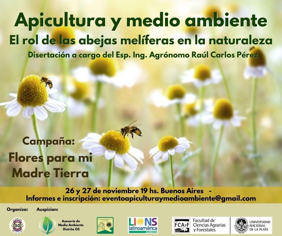 """""""Apicultura y medio ambiente. El Rol de las abejas melíferas en la naturaleza"""""""