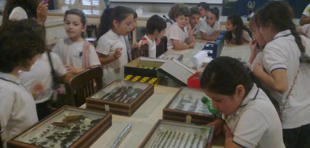 Visita de los alumnos de 2° Grado de la Escuela Euforión
