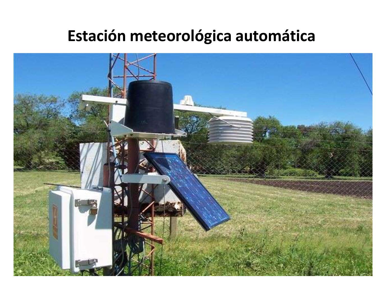 La Estación Experimental J.H ofrece un boletín agrometeorológico