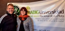 La Dra. Griselda Sánchez Vallduví en Radio Universidad