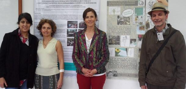 Se realizó el I Encuentro Nacional de Ilustradores Científicos Botánicos