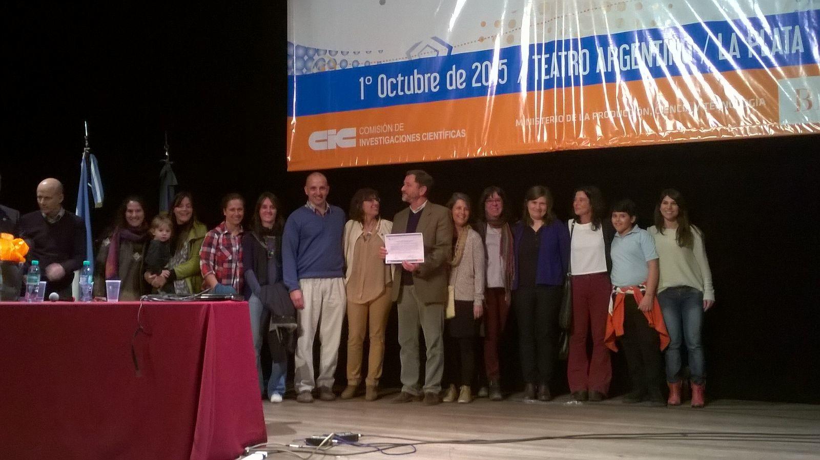 Docentes de la Facultad premiados por la CIC