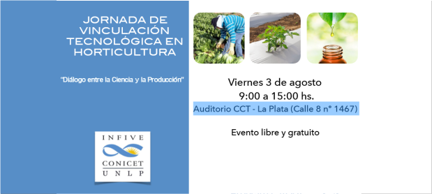 Jornada de Vinculación Tecnológica en Horticultura