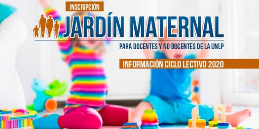 Inscripción a Jardín Maternal UNLP-Ciclo Lectivo 2020