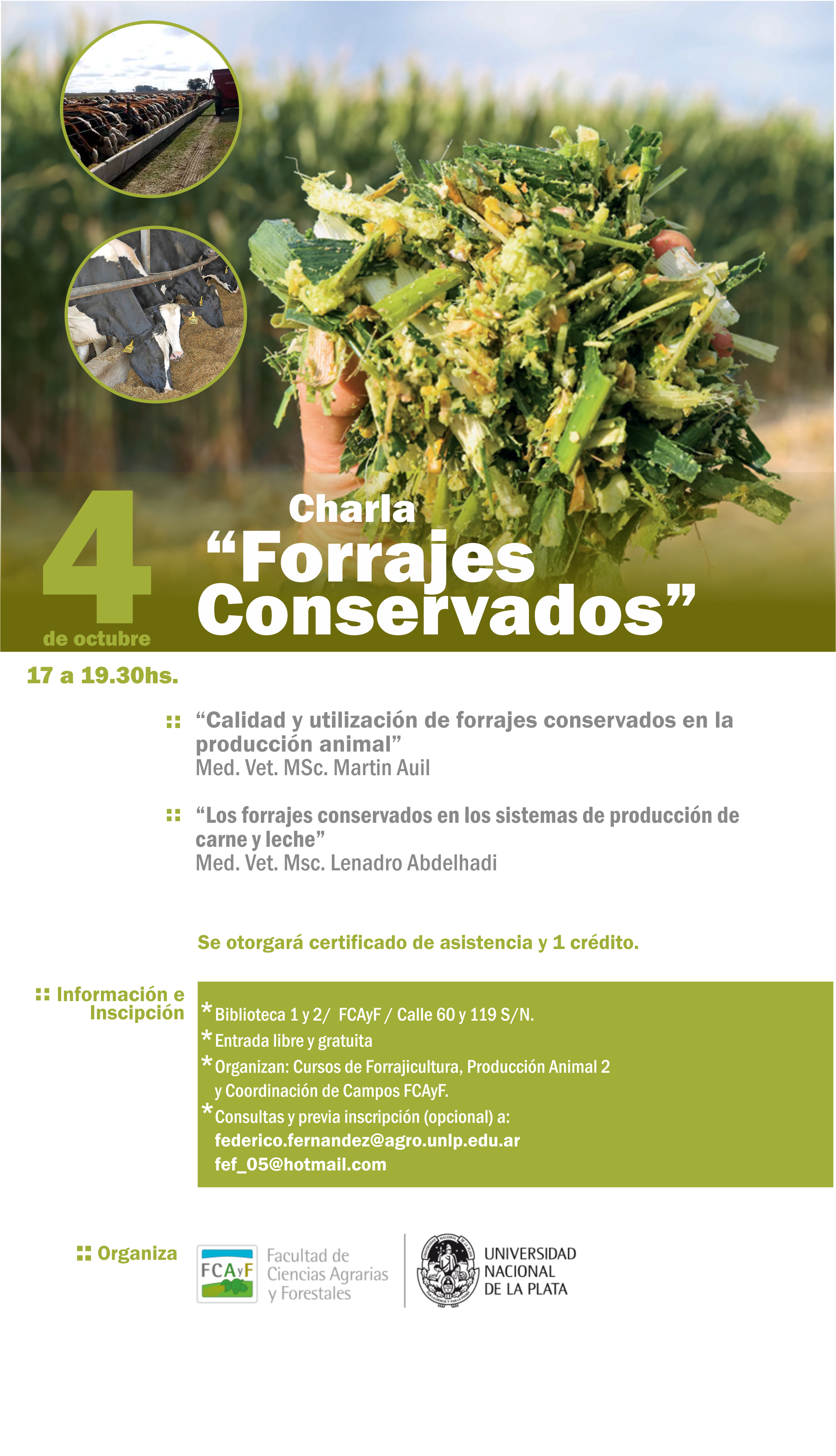 Charla Forrajes conservados