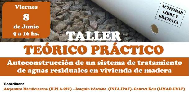 Autoconstrucción de un sistema de tratamiento de aguas residuales en vivienda de madera