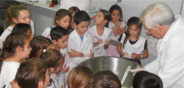 Alumnos de la Anexa visitaron la Facultad