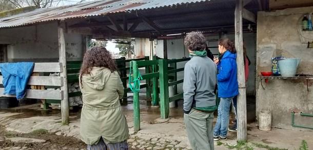 """Pasantía: """"Capacitación en la construcción de un sistema de depuración para aguas residuales del tambo 6 de Agosto"""""""