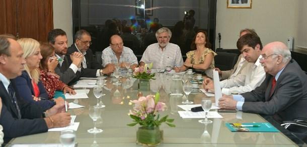 La Facultad estuvo presente en la reunión de Audeas con el Ing. Carlos Casamiquela