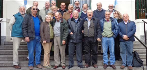Se reunieron los Ingresantes 1966 de la Carrera de Ingeniería Agronómica
