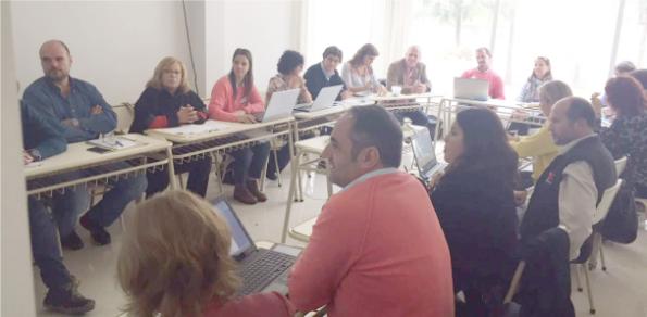 Primera reunión 2017 de AUDEAS