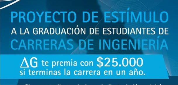 Convocatoria 2015 Becas de Estímulo para la Graduación de Estudiantes de Ingeniería.