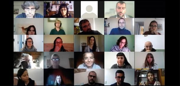 Encuentro Virtual de Equipos de Extensión