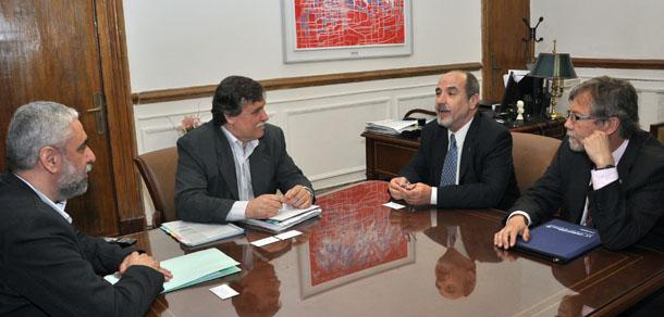 El Decano se reunió con el Jefe de Gabinete del Ministerio de Agricultura