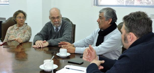 Reunión con las Autoridades de la Facultad de Ciencias Médicas